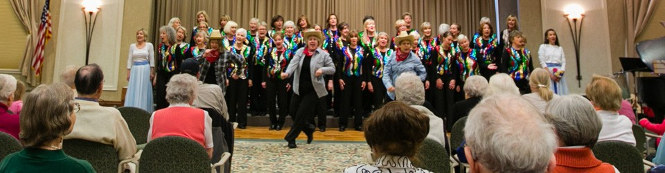 senior living chorus group