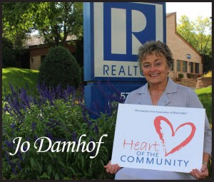 Jo Damhof Heart of the Community Award